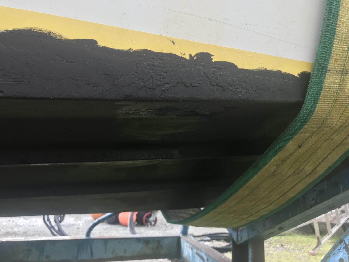 ボートメンテナンス 塗装後
