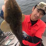 東京湾のマゴチ釣果が上々! ワームとスピンテールで釣果もアゲアゲ☆
