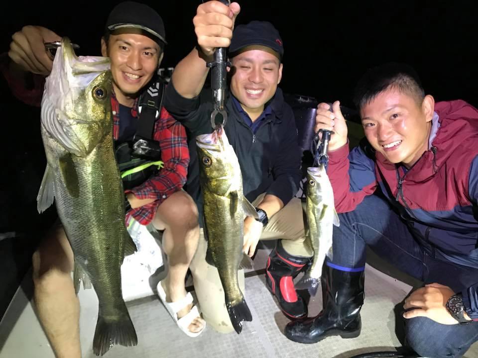 みんな釣れました!