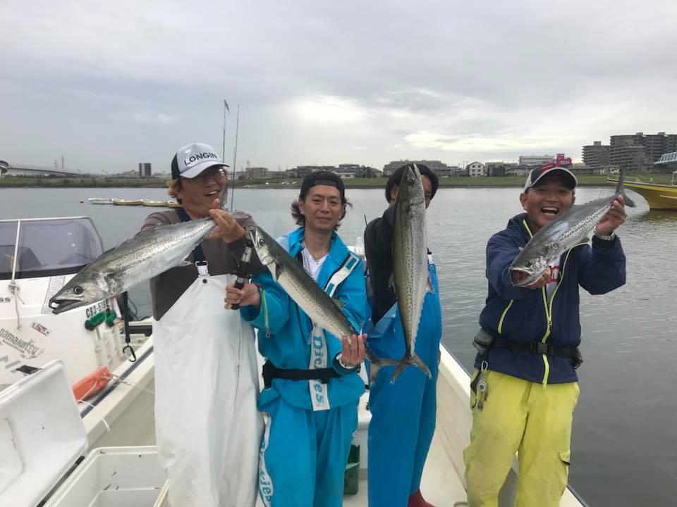 全員、魚をキャッチしました!