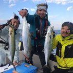 東京湾で青物が連発ヒット! ミノーとシンペンで大型のサワラが釣れてます!
