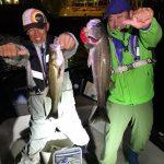 ナイスな60UPのシーバスをGET! 東京湾で入れ食いシーズンが始まってます!