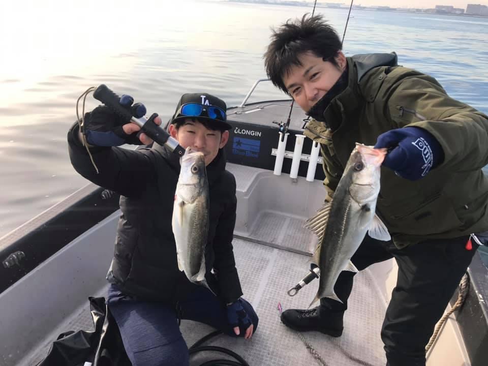 12/26 東京湾 ボートシーバス デイゲーム