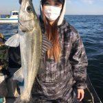 冬の東京湾デイゲーム好調! 橋脚シーバスにボトムでカサゴが釣れました!