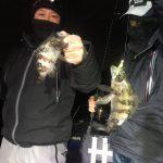 ナイトゲームでメバルが釣れてます! 冬の東京湾で良形メバルとゲストの魚が釣れました!