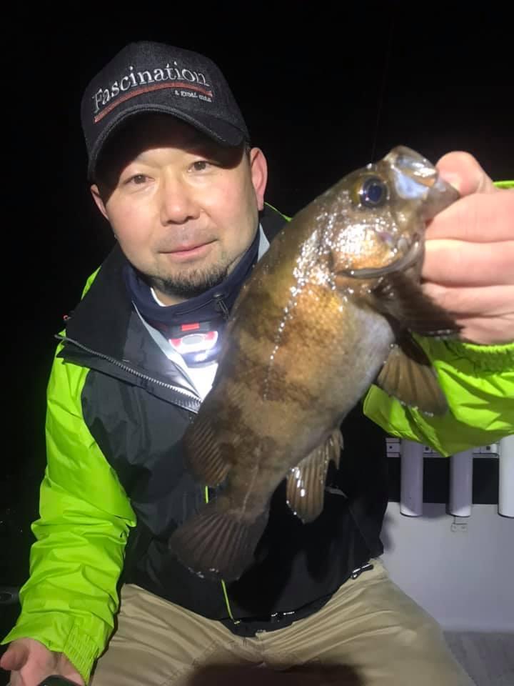 2/26 東京湾ナイトゲーム メバル シーバス