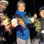 東京湾で夜のメバルゲーム! 初心者の方も釣れて全員安打のナイトゲーム!