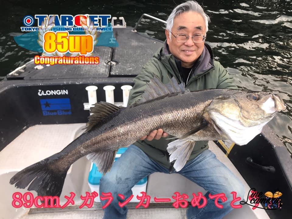 3/30 東京湾デイゲーム メガランカーシーバス