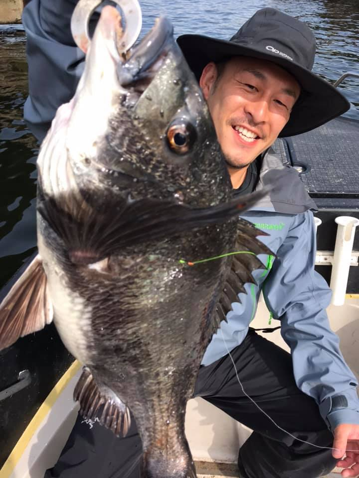 東京湾 デイゲーム 黒鯛(チヌ)
