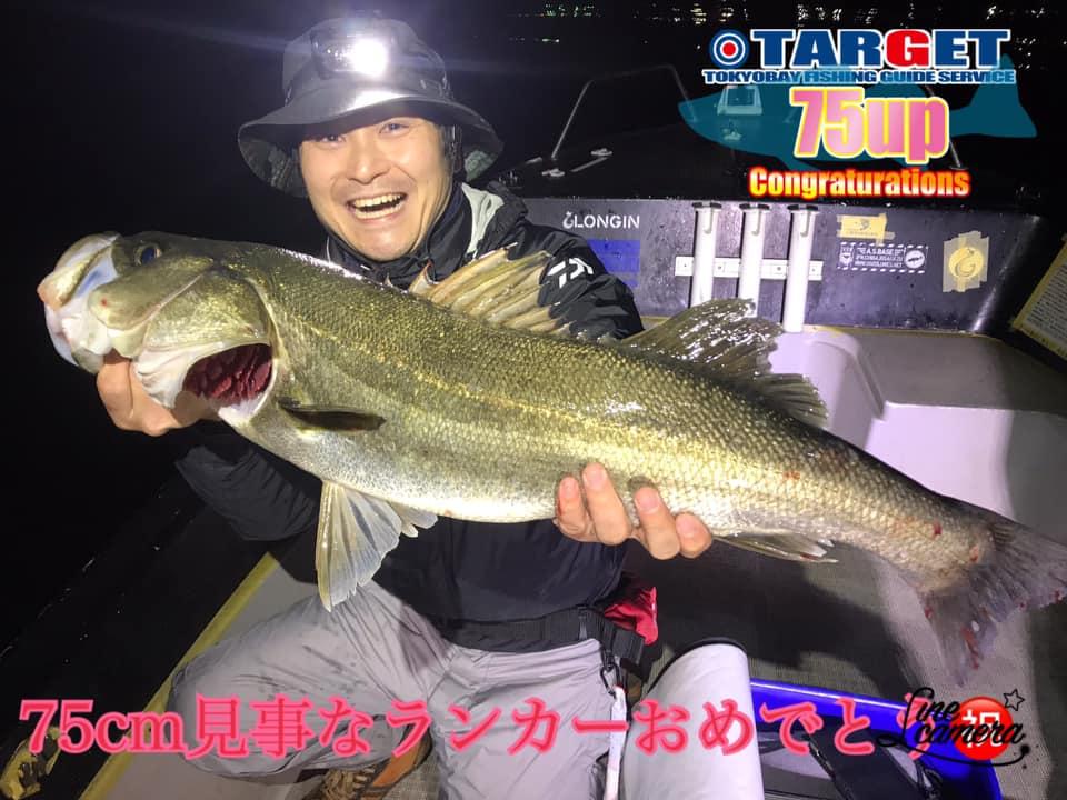 4/28 東京湾 ナイトゲーム シーバス便