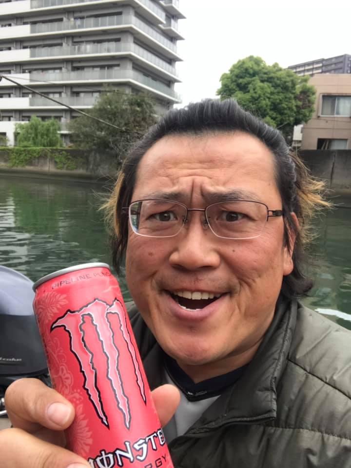 4/29 東京湾 ボートのオイル交換