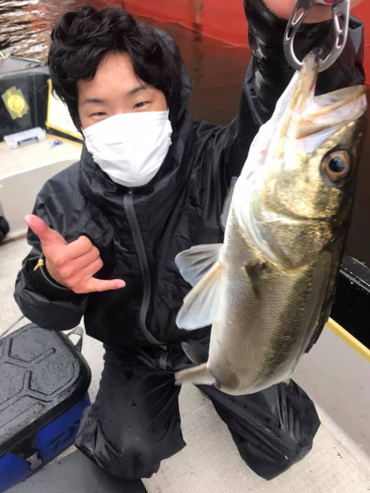 4/26 東京湾 デイゲーム ボートシーバス