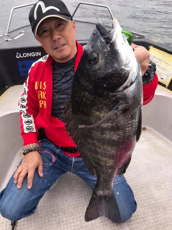 4/29 東京湾 船釣り 黒鯛