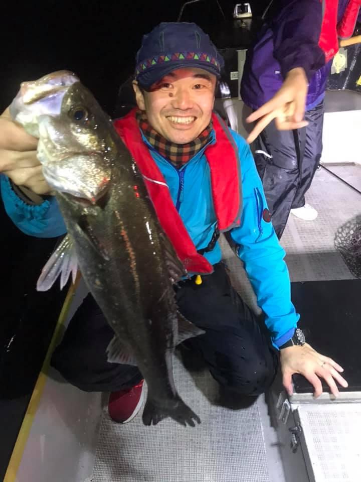 4/30 千葉県東京湾 ナイトゲーム ボートシーバス