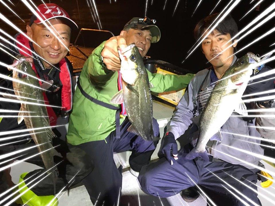 5/2 千葉県東京湾 ナイトゲーム ボートシーバス