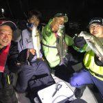 シーバスボイルに、入れパク祭り! 千葉県東京湾でシーバスの数釣り!