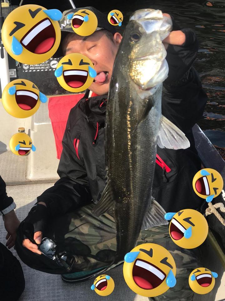 5/5 千葉県東京湾 ボートシーバス デイゲーム