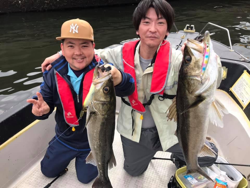 5/2 東京湾 ボートシーバス デイゲーム