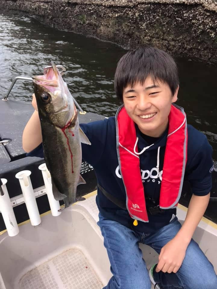 5/6 千葉県東京湾 ボートシーバス デイゲーム