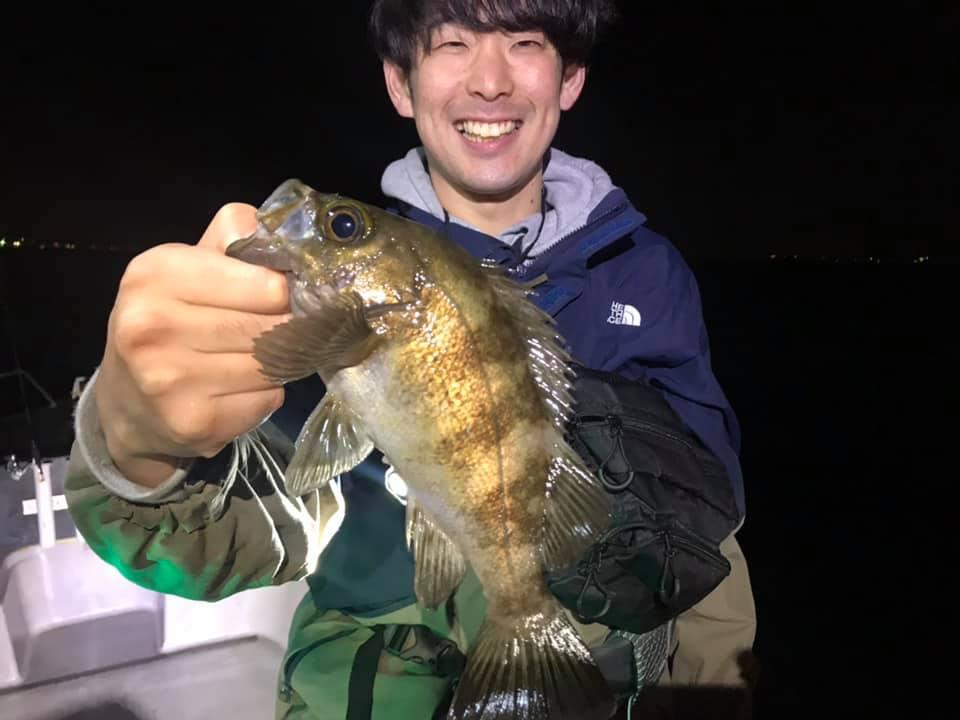 5/15 ナイトゲーム 東京湾 ボートメバル便