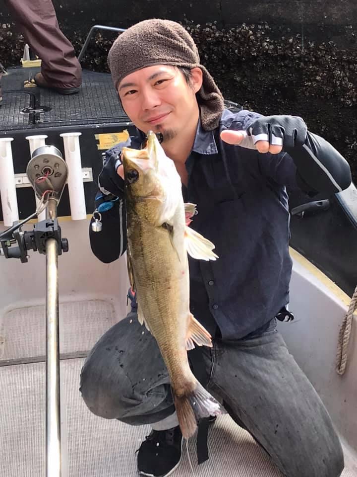 5/19 千葉県東京湾 ボートシーバス デイゲーム