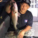 東京湾でシーバスをが釣れたが…ワタリガニが大漁!まさかの蟹船になったw