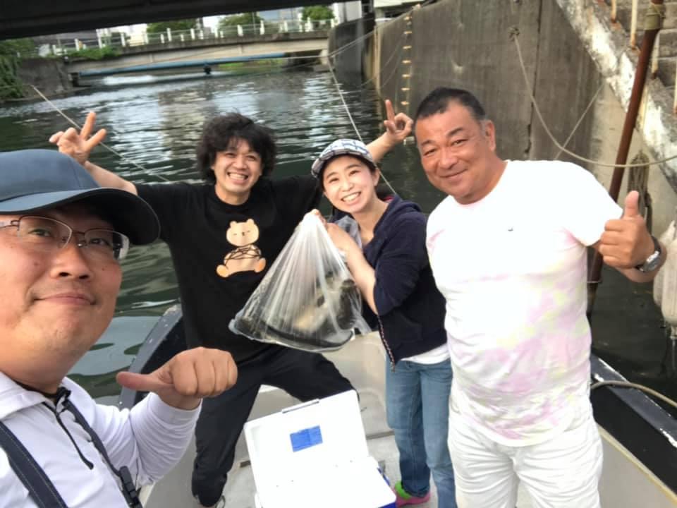 6/18 千葉県東京湾 ボートシーバス デイゲーム