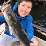 東京湾で4種目の魚釣り! シーバス、ワカシ、マゴチ、マダコが釣れました!