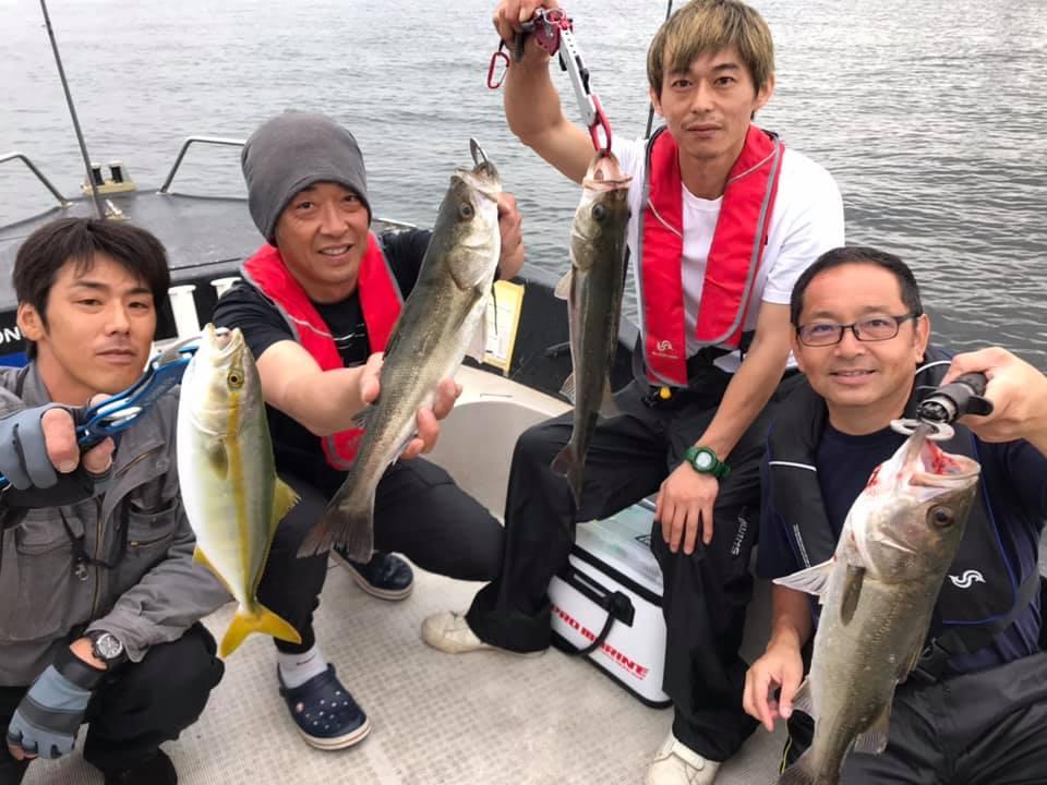 6/23 東京湾 シーバス 青物ゲーム