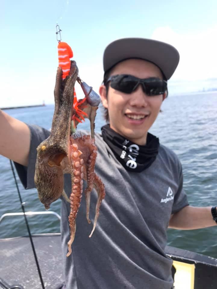 7/24 午後 千葉県東京湾 シーバス&タコ釣り