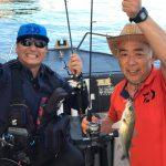何とかシーバスゲットの釣り日和… 少ししか釣れずなボート釣りのデイゲーム
