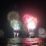 たまにはボートから花火を見るのも。夏の東京湾シーバスも調査してきました!