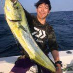 ルアーでシイラ釣りin夏の東京湾!釣果もバッチリ! マグロやカツオの姿も見ることができました!