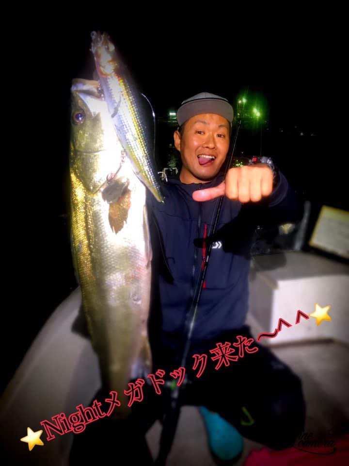 10/1 千葉県東京湾 ナイトボートシーバス