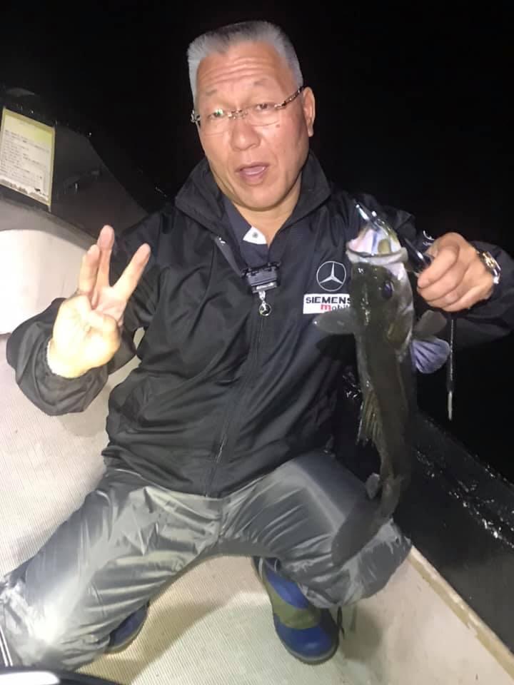 10/3 千葉県東京湾 ナイトボートシーバス