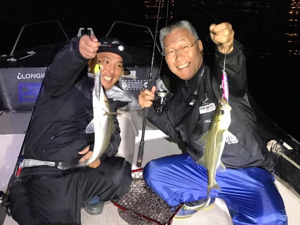10/16 千葉県東京湾 夜のボートシーバス