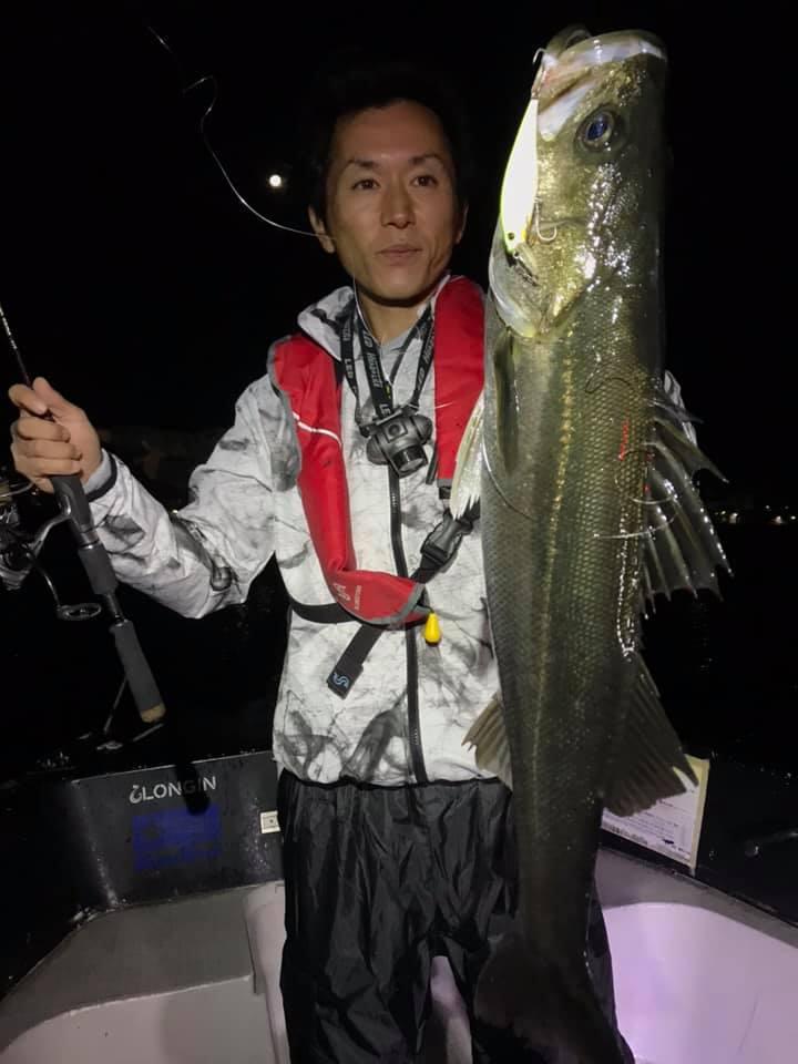 10/9 千葉県東京湾 ナイトゲーム ボートシーバス
