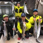 大型のサワラが東京湾で連続釣れまくり!大きめのミノーで釣果が出ました!