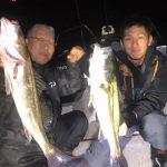 70、80cmUPのランカーシーバスが釣れまくる!親子で秋の東京湾を熱くしてくれました!