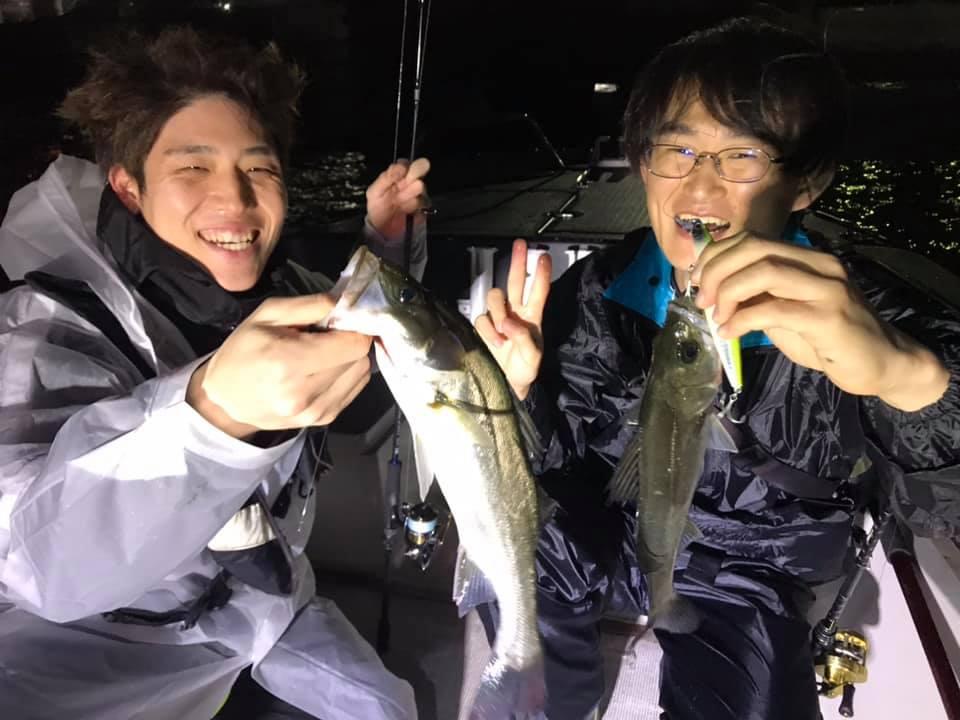 11/24 千葉県東京湾 ナイトゲーム ボートシーバス