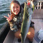 お子さんや彼女さんとボート釣り!ビギナーもシーバスなどの魚と東京湾で遊べます!