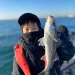 東京湾2020年の釣り始めはシーバス!親子で入れ食いシーバスを堪能していただきました!