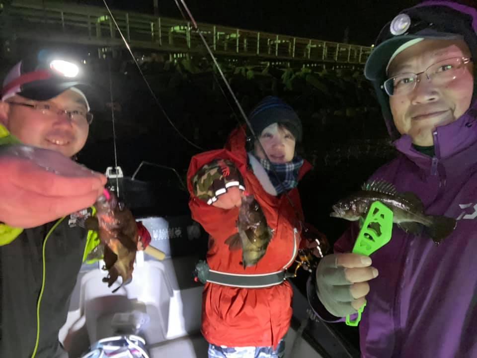 メバル・カサゴの良型根魚を連発!ジグヘッド大目に持って遊びに来てください!
