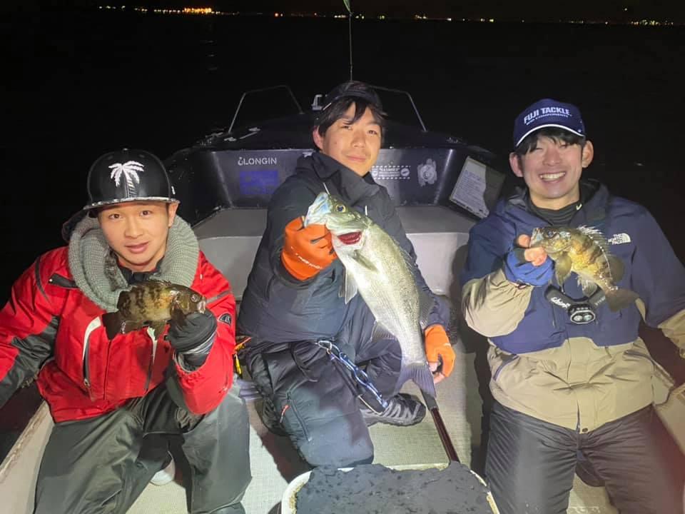 3月上旬の東京湾、良型メバルが釣れてます!シーバスの釣果も上がってます!