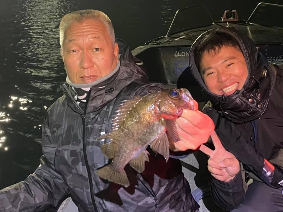 2/20 千葉県東京湾 メバル釣り メバリング