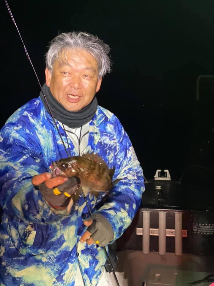 2/13 千葉県東京湾 ボートメバリング