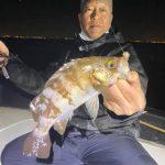 3月後半の東京湾、まだまだメバルが釣れてます!尺近いサイズの魚もゲットできます!