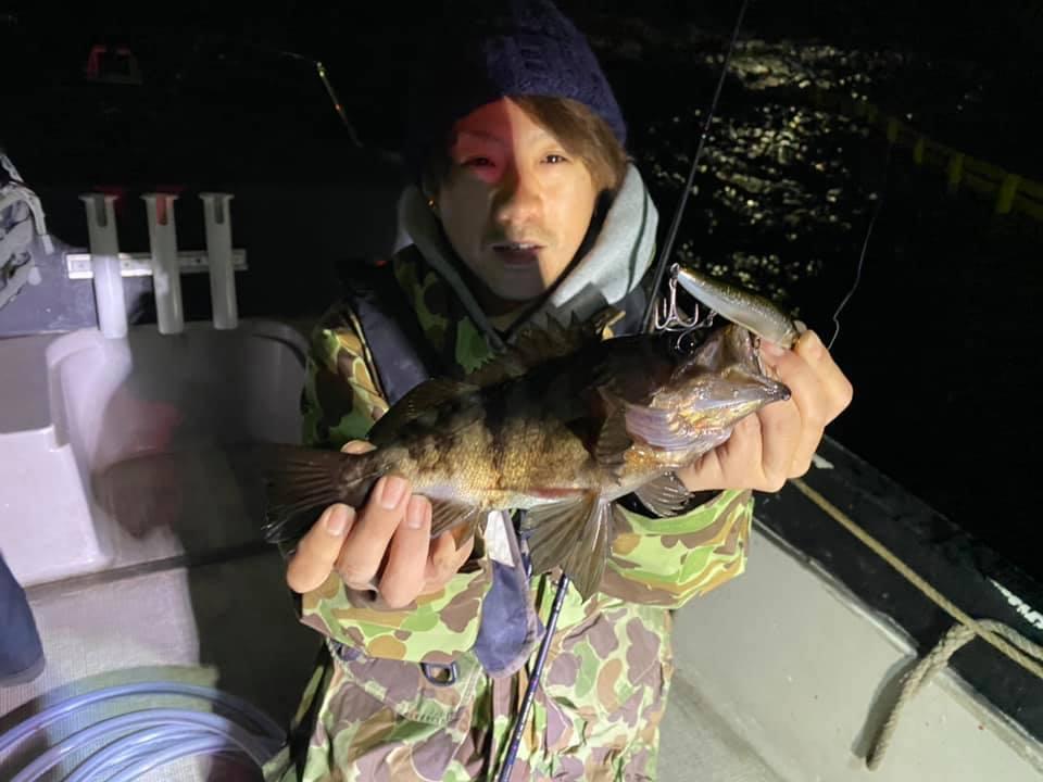 3/20 千葉県東京湾 ナイトボートシーバス