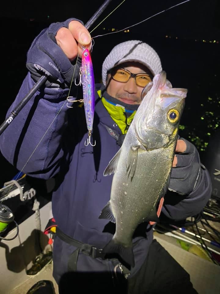 3/21 千葉県東京湾 デイゲーム ボートシーバス