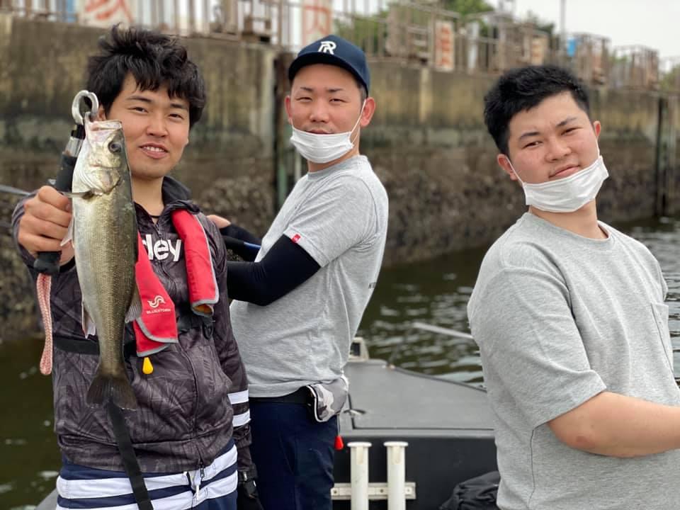 6/6 千葉県東京湾 ボートシーバス
